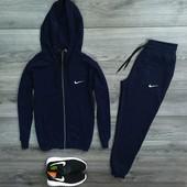 Спортивные мужские костюмы Nike на молнии
