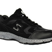 Осенние кроссовки для мужчин маломерки Air-black3