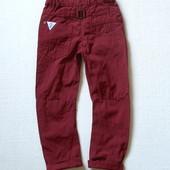 Дизайнерские брюки чинос для мальчика 4-5 лет