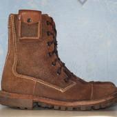 кожаные ботинки Clarks 40р