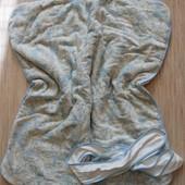 Теплое одеяло - конверт, велюр, хлопок