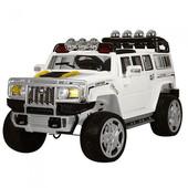 Детский электромобиль Джип Hummer 255EBR-1, белый