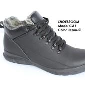 Супер цена! Мужские кожаные ботинки на зиму