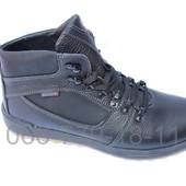 Мужские кожаные зимние ботинки Е-44