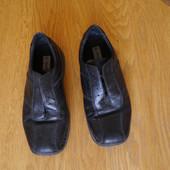 Туфлі шкіряні р.44 стелька 28,5 Casual Life