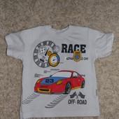 футболка на 2-3 роки
