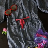 Стильное платье джинс crazy 8