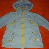 Куртка- ветровка Kiko на 4-5 лет