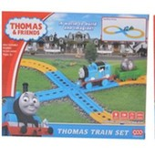 Железная дорога Паровозик Томас на батарейках, звук паровоза, свет