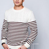 Удобный мужской свитер  50, 52, 54