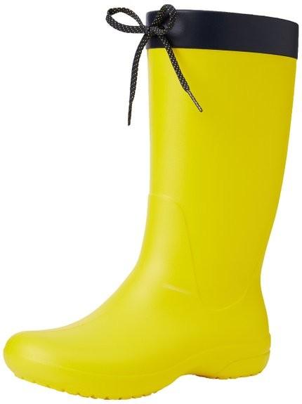 Сапоги crocs freesail rain boot, w6 фото №2