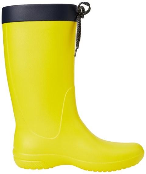 Сапоги crocs freesail rain boot, w6 фото №4