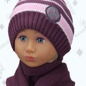 Дитячі комплекти для дівчинки! Шапка + шарф!