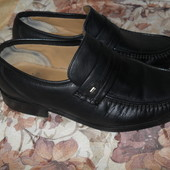 Туфли мужские р.43 (9) Clarks, натуральная кожа.