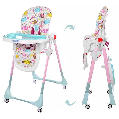 Бемби 3553 стульчик для кормления детский высокий bambi фото №1