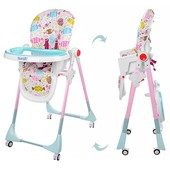 Бемби 3553 стульчик для кормления детский высокий Bambi
