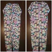 Хлопковый слип, пижама Котята для девочки. Рост 122 см.