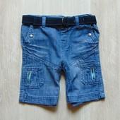 Стильные джинсовые шорты для мальчика. Cherokee. Размер 2-3 года. Состояние: новой вещи, не ношенные