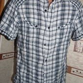 Фирменная стильная рубашка бренд Tom Tailor (Том Тейлор).