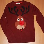 классный мужской свитер размер с