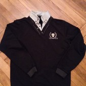 мужской свитер обманка 2 в 1 ХXL