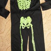Костюм Скелетон на Хеллоуин Р. 125-135