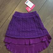 Новая. красивая, теплая юбка на рост 110