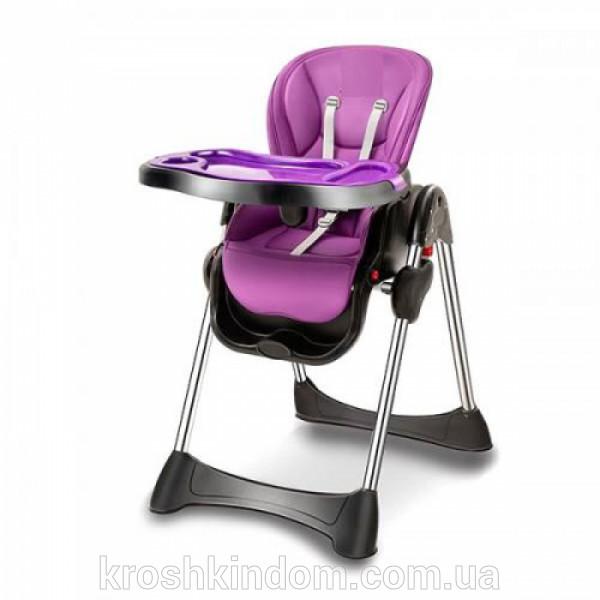 Стульчик для кормления Bambi M 3216-9, фиолетовый фото №1