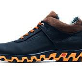 Ботинки Columbia Track II, на меху, р. 40-45, натур. кожа, код kv-3919-4