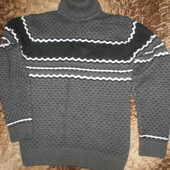 оригинальный свитер с горлышком