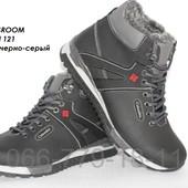 Мужские кожаные спортивные ботинки, 2 цвета