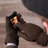 Классные мужские перчатки от тсм Tchibo размер 9,5