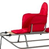 Теплый и мягкий матрасик для сидения к санкам Adbor Piccolino.
