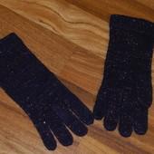 Перчатки цвета слива