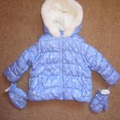 тепленька курточка_жилетка від George