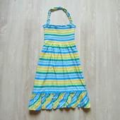 Яркий сарафан для девочки. Размер 9-10 лет. Состояние: идеальное
