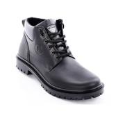 Ботинки зимние кожаные мужские Bastion 048ч