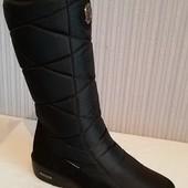 Идеальная зимняя обувь - женские лёгкие сапоги-дутики. качество, тепло, комфорт