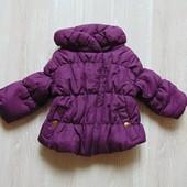 Шикарная демисезонная куртка для маленькой принцессы. F&F. Размер 0-3 месяца. Состояние: новой вещи.