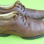 Туфли кожаные Clarks uk 10, р.43, ст.29см.