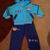 Спортивный костюм на мальчика на 12 месяцев