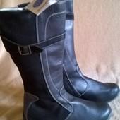 сапоги кожаные Melania 40pp.