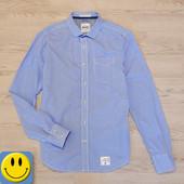 Рубашка в мелкую клетку Superdry р. L, ворот 43,5 см. Состояние новой! Индия
