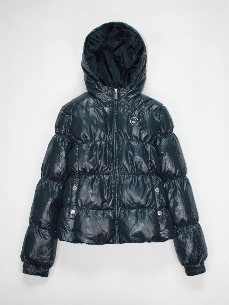 Benetton зимняя пуховая куртка. в ассортименте фото №4