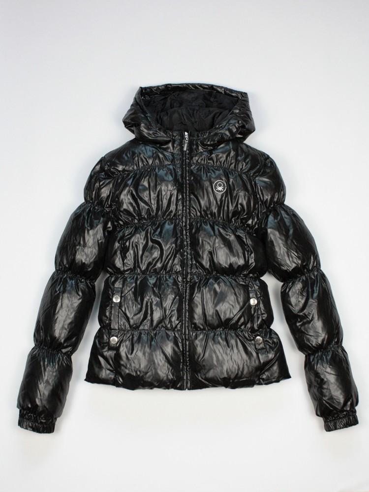 Benetton зимняя пуховая куртка. в ассортименте фото №5