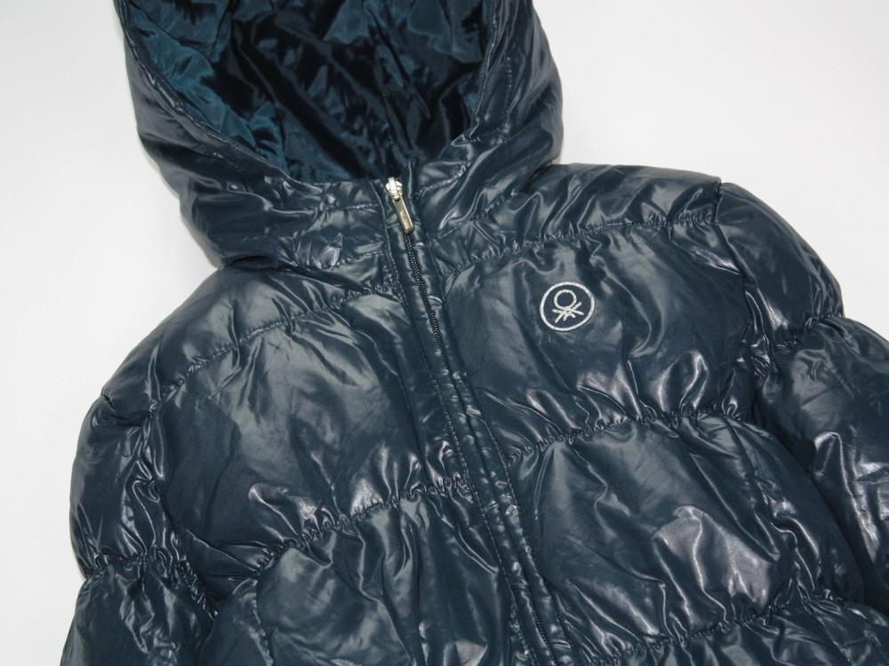 Benetton зимняя пуховая куртка. в ассортименте фото №6