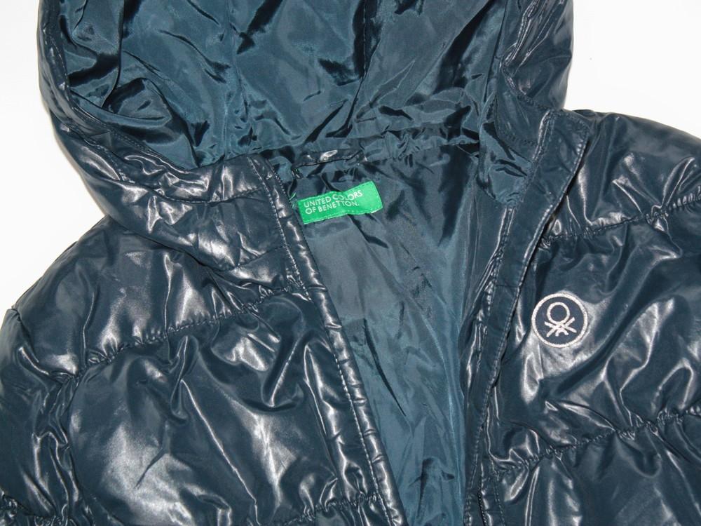 Benetton зимняя пуховая куртка. в ассортименте фото №8