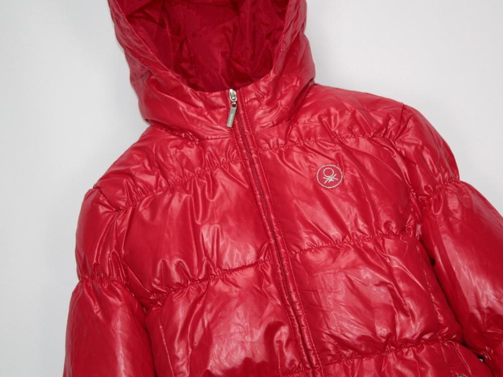 Benetton зимняя пуховая куртка. в ассортименте фото №9