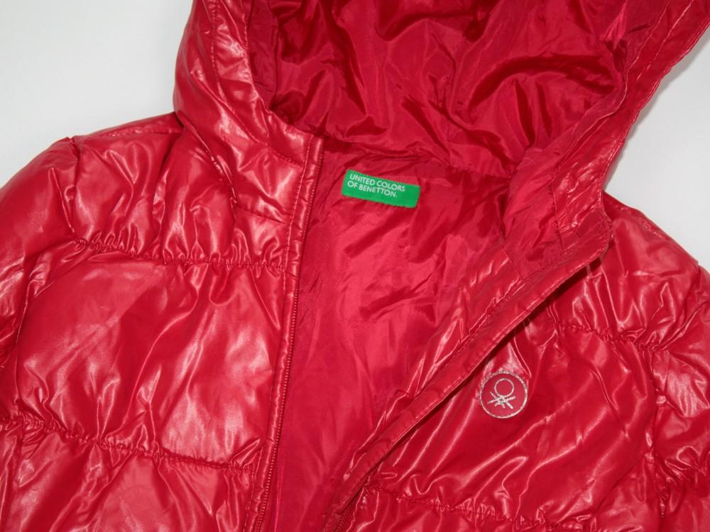 Benetton зимняя пуховая куртка. в ассортименте фото №12
