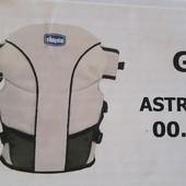 Продам рюкзак-кенгуру Chicco от 0месяцев